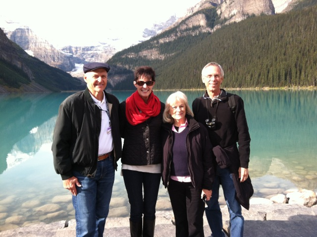 Carol LeBeau visits Lake Louise in Canada