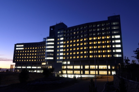 New Palomar Medical Center at Sunrise-November 2011 Photo courtesy of David Cox, DPR Construction
