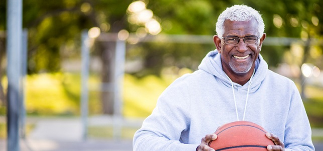 For Older Men, Even Light Exercise Helps