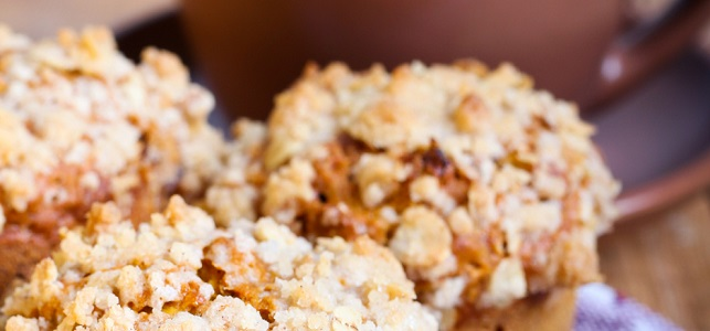 Healthy Holiday Recipe - Pumpkin Oat Streusel